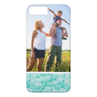 Custom Photo Lotus pattern 2 iPhone 8 Plus/7 Plus Case