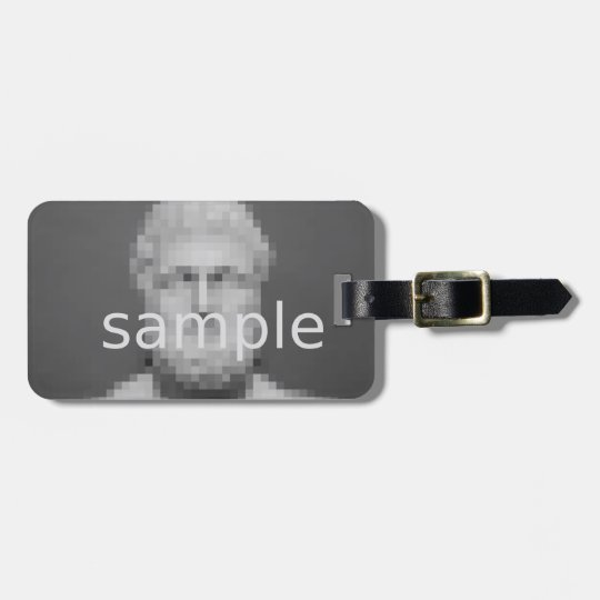 Custom photo luggage tag | Add your image