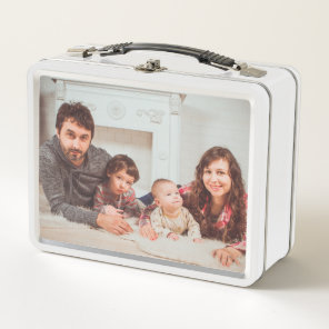 Custom Photo. Metal Lunch Box