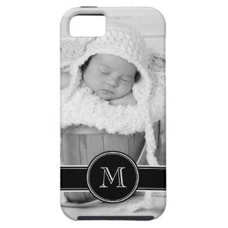 Custom Photo & Monogram Personalized iPhone 5 Case