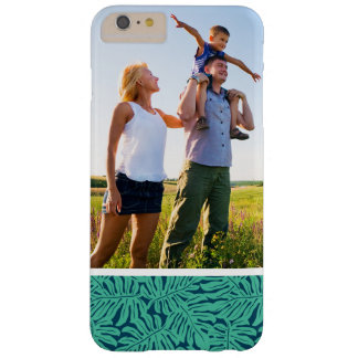 Custom Photo Monstera Tropical Leaf Pattern Barely There iPhone 6 Plus Case