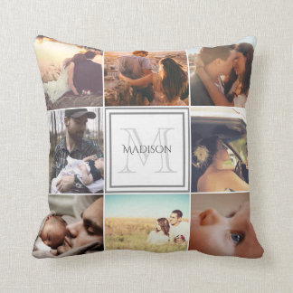 Custom Photo Montage Cushion