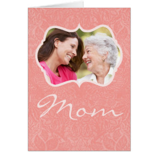 Custom Photo Mother's Day Greeting Card