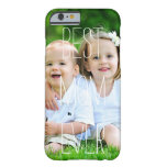 Custom Photo Mother's Day | iPhone 6 Case Barely There iPhone 6 Case