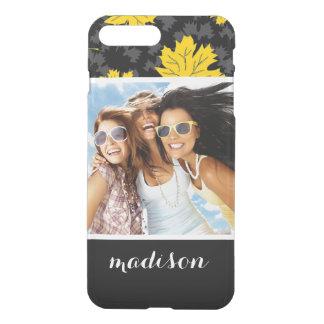 Custom Photo & Name Beautiful autumn background iPhone 8 Plus/7 Plus Case