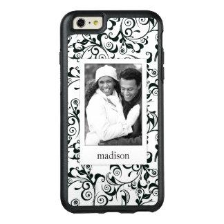 Custom Photo & Name Damask OtterBox iPhone 6/6s Plus Case