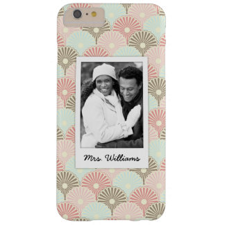 Custom Photo & Name Japanese vintage pattern Barely There iPhone 6 Plus Case
