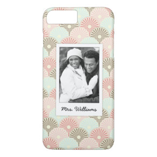 Custom Photo & Name Japanese vintage pattern iPhone 8 Plus/7 Plus Case