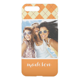 Custom Photo & Name Sweater Background iPhone 8 Plus/7 Plus Case