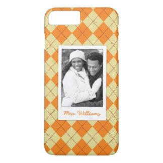 Custom Photo & Name Sweater Background iPhone 8 Plus/7 Plus Case