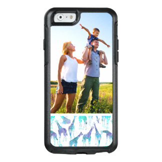 Custom Photo Neon Giraffes OtterBox iPhone 6/6s Case