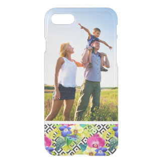 Custom Photo Orchid Begonia And Palm Leaves iPhone 8/7 Case