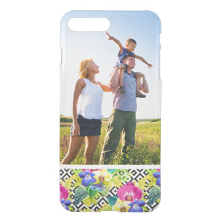 Custom Photo Orchid Begonia And Palm Leaves iPhone 8 Plus/7 Plus Case