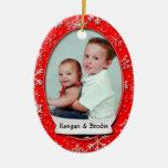 Custom Photo Ornament (2 Sided, Dated)