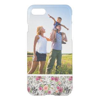 Custom Photo Pattern With Animal Prints iPhone 8/7 Case
