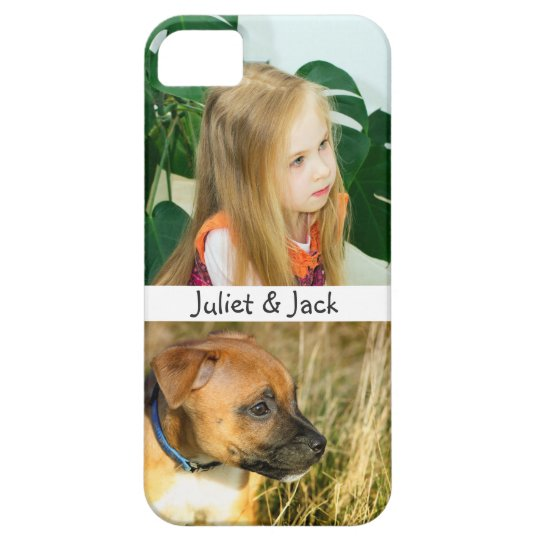 Custom Photo Personalised Barely There iPhone 5 Case