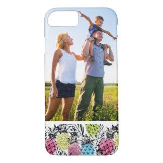 Custom Photo Pineapple Grunge Palms iPhone 8/7 Case