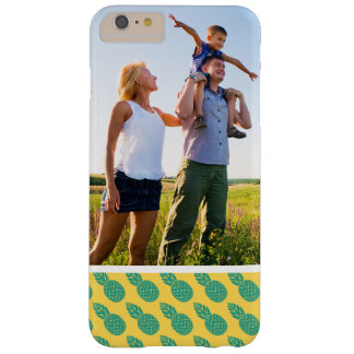 Custom Photo Pineapple Pattern Barely There iPhone 6 Plus Case