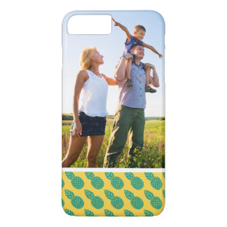 Custom Photo Pineapple Pattern iPhone 8 Plus/7 Plus Case