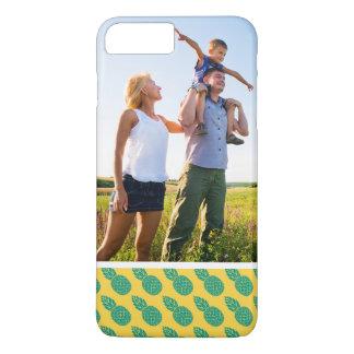Custom Photo Pineapple Pattern iPhone 8 Plus/7 Plus Case