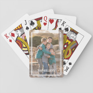 Custom Photo Playing Cards