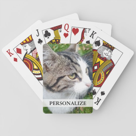 Custom photo playing cards | Add your image