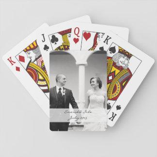 Custom photo playing cards - personalise