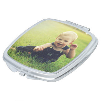 Custom Photo Pocket Mirror Travel Hand Mirror Travel Mirrors