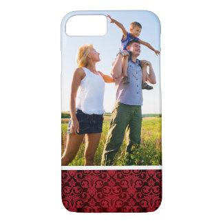 Custom Photo Red wallpaper 2 iPhone 8/7 Case
