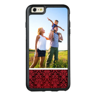 Custom Photo Red wallpaper 2 OtterBox iPhone 6/6s Plus Case