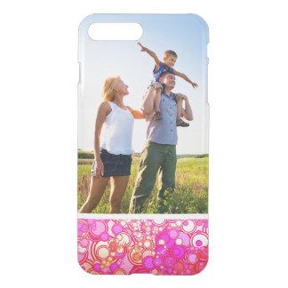Custom Photo Retro Circles iPhone 8 Plus/7 Plus Case