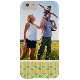 Custom Photo Retro Pineapples Barely There iPhone 6 Plus Case