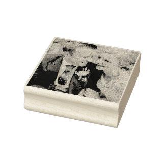 Custom Photo Rubber Stamp