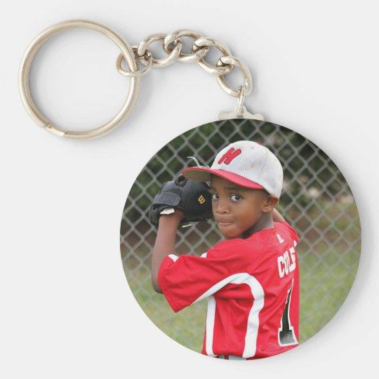 Custom Photo Sports Keychain - personalised