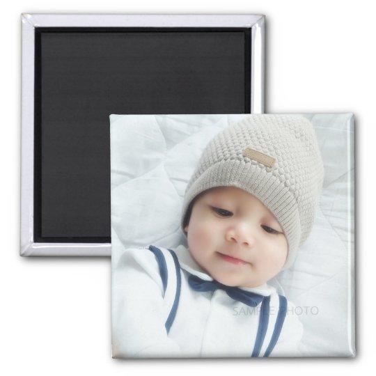 Custom Photo Square Magnet