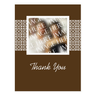 Custom Photo Template Thank You Card Postcard