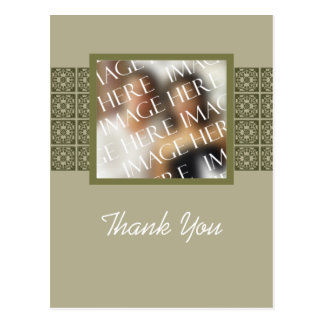Custom Photo Template Thank You Card Post Cards