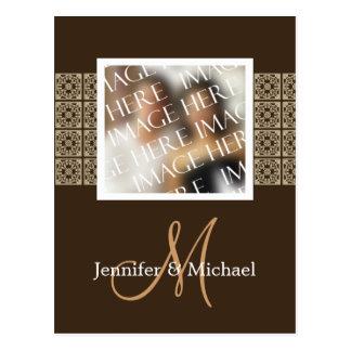 Custom Photo Template Wedding Card Postcards