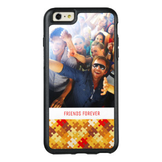 Custom Photo & Text Autumn colors puzzle OtterBox iPhone 6/6s Plus Case