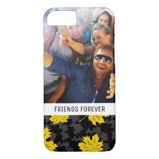 Custom Photo & Text Beautiful autumn background iPhone 8/7 Case