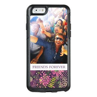 Custom Photo & Text Bright pattern OtterBox iPhone 6/6s Case