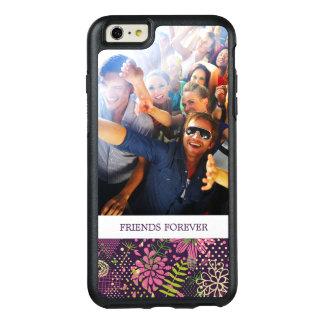 Custom Photo & Text Bright pattern OtterBox iPhone 6/6s Plus Case