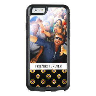 Custom Photo & Text Candy Corn Pattern OtterBox iPhone 6/6s Case