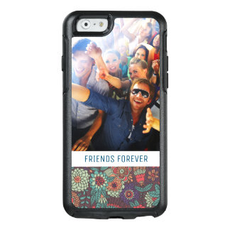 Custom Photo & Text floral cartoon pattern OtterBox iPhone 6/6s Case