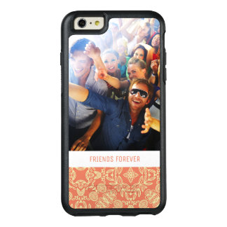 Custom Photo & Text on Vintage Background OtterBox iPhone 6/6s Plus Case