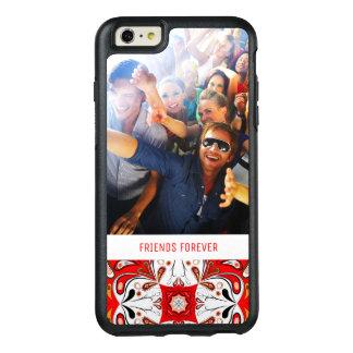 Custom Photo & Text Portuguese Tile Pattern OtterBox iPhone 6/6s Plus Case