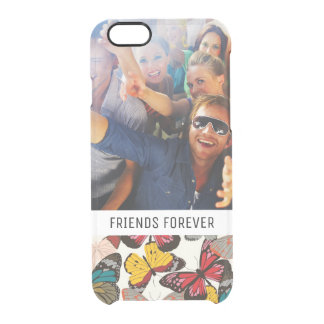 Custom Photo & Text Retro floral pattern 7 Clear iPhone 6/6S Case