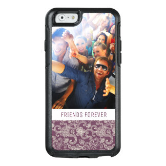 Custom Photo & Text Retro pattern OtterBox iPhone 6/6s Case
