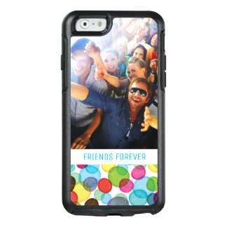 Custom Photo & Text Round bubbles kids pattern 2 OtterBox iPhone 6/6s Case