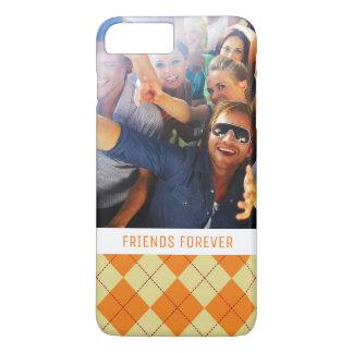 Custom Photo & Text Sweater Background iPhone 8 Plus/7 Plus Case
